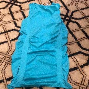 Calia ruched sides tank top size small